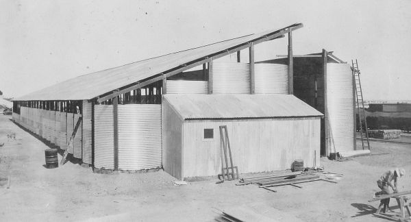 Original Bin Under Construction In The 1930's